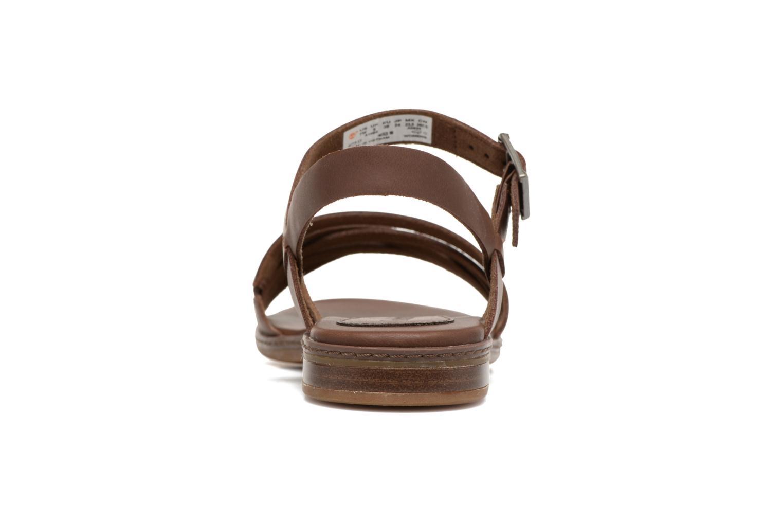 Sandales et nu-pieds Timberland Cherrybrook Ankle Strap Marron vue droite