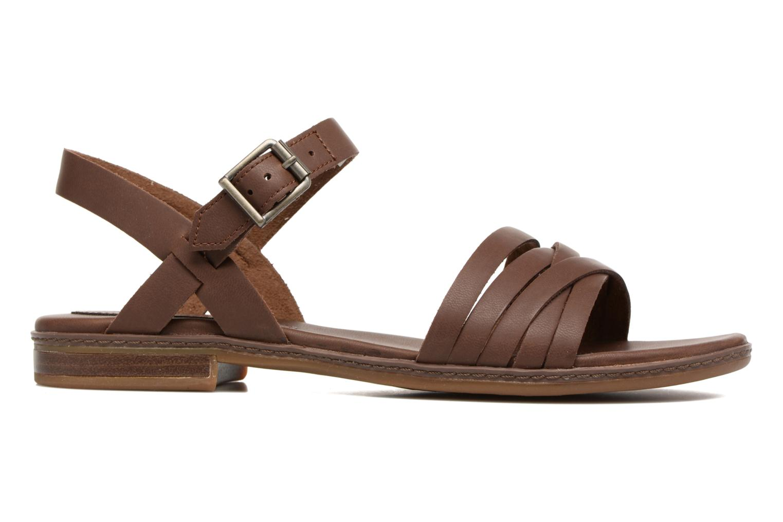 Sandales et nu-pieds Timberland Cherrybrook Ankle Strap Marron vue derrière