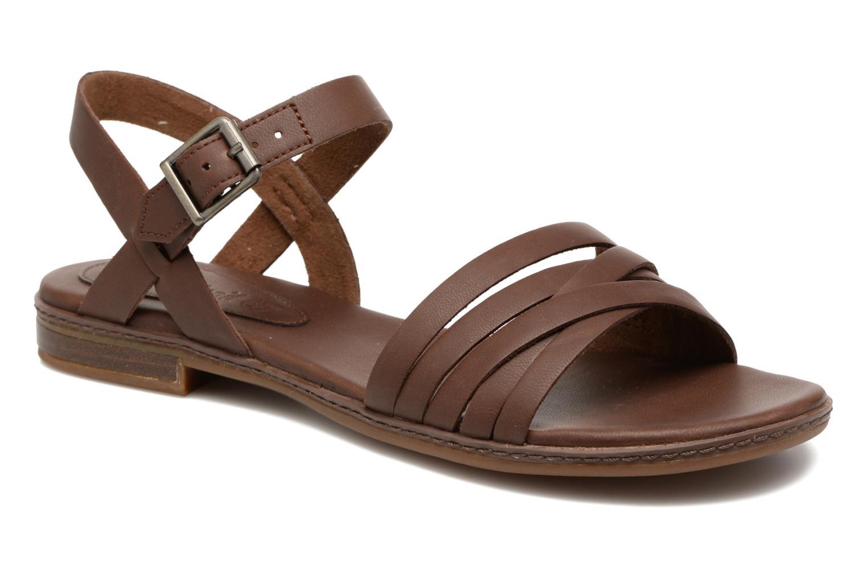 Sandales et nu-pieds Timberland Cherrybrook Ankle Strap Marron vue détail/paire