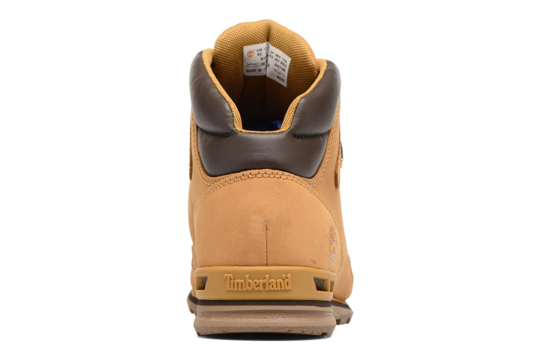 Bottines et boots Timberland Eurorock Beige vue droite