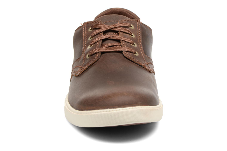 Baskets Timberland Fulk LP Ox Marron vue portées chaussures