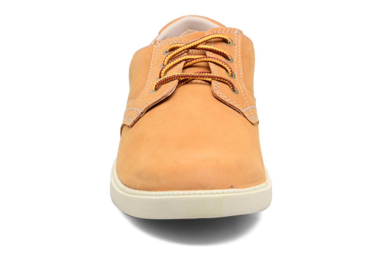 Baskets Timberland Fulk oxford Beige vue portées chaussures