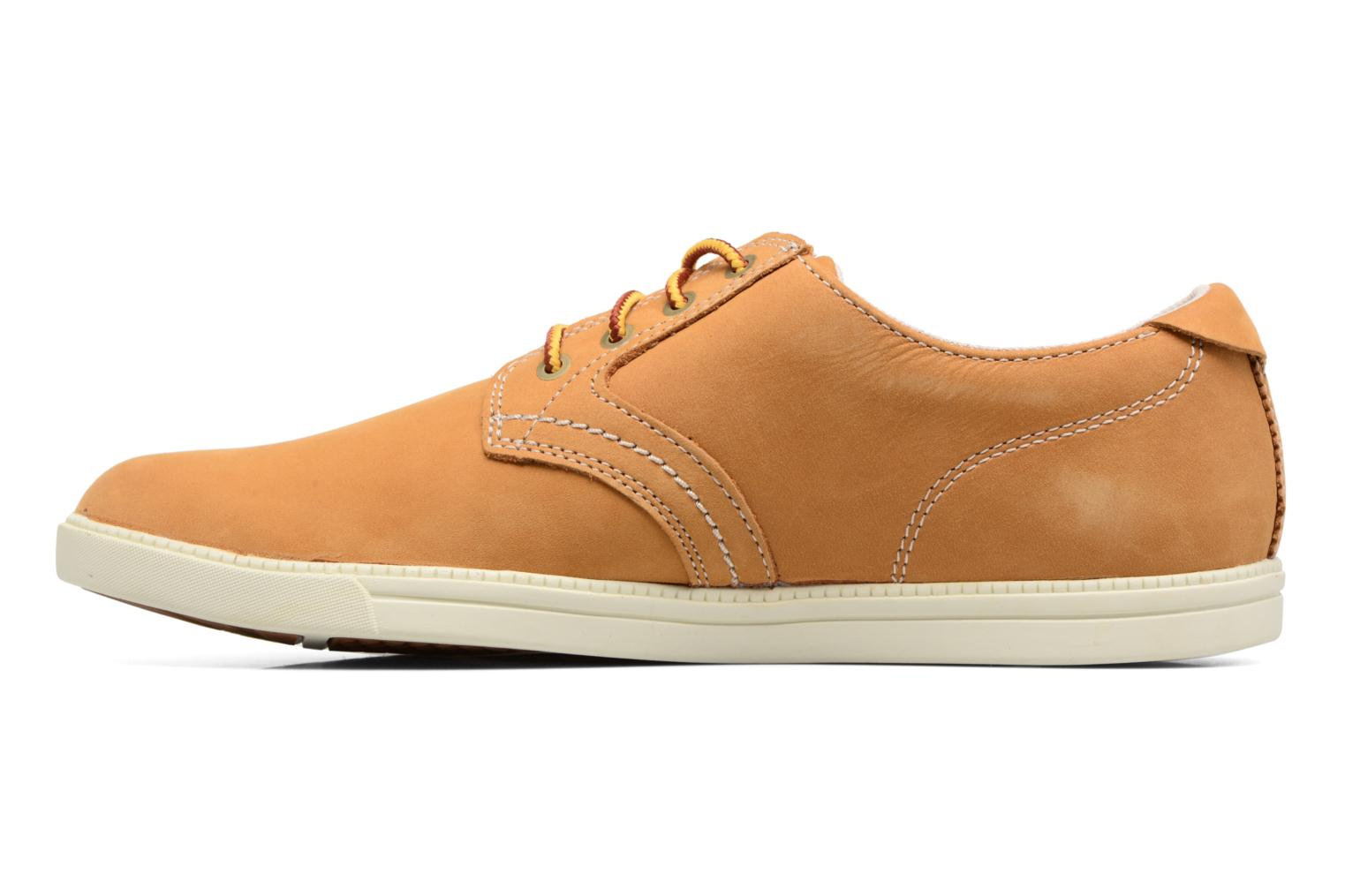 Baskets Timberland Fulk oxford Beige vue face