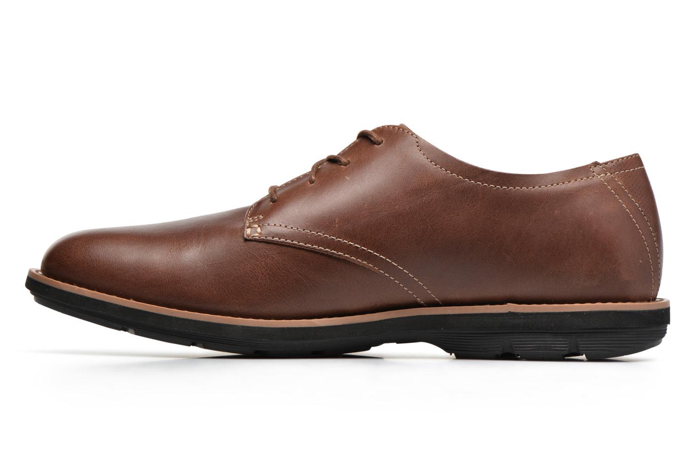 Chaussures à lacets Timberland Kempton Oxford Marron vue face