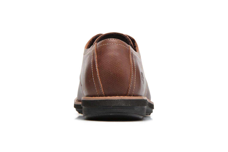 Chaussures à lacets Timberland Kempton Oxford Marron vue droite