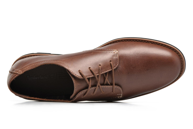 Chaussures à lacets Timberland Kempton Oxford Marron vue gauche