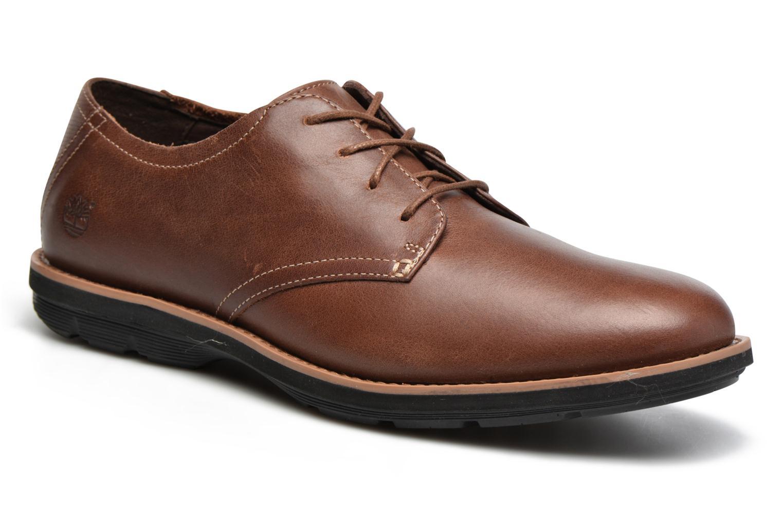 Chaussures à lacets Timberland Kempton Oxford Marron vue détail/paire