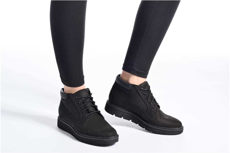 Bottines et boots Timberland Kenniston Nellie Noir vue bas / vue portée sac