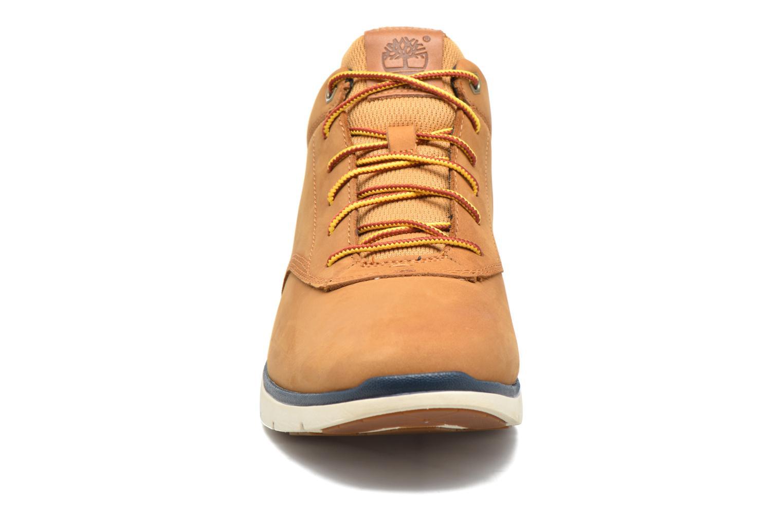Baskets Timberland Killington Half Cab Beige vue portées chaussures