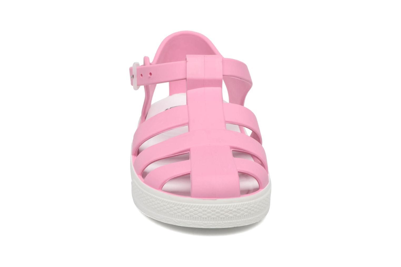 Sandalen SARENZA POP Romy rosa schuhe getragen