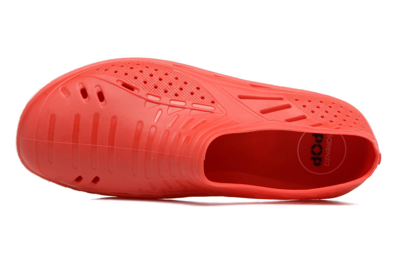 Sandales et nu-pieds SARENZA POP Raffi Rouge vue gauche
