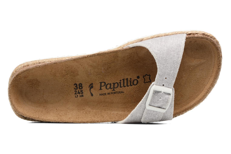 Clogs & Pantoletten Papillio Madrid grau ansicht von links