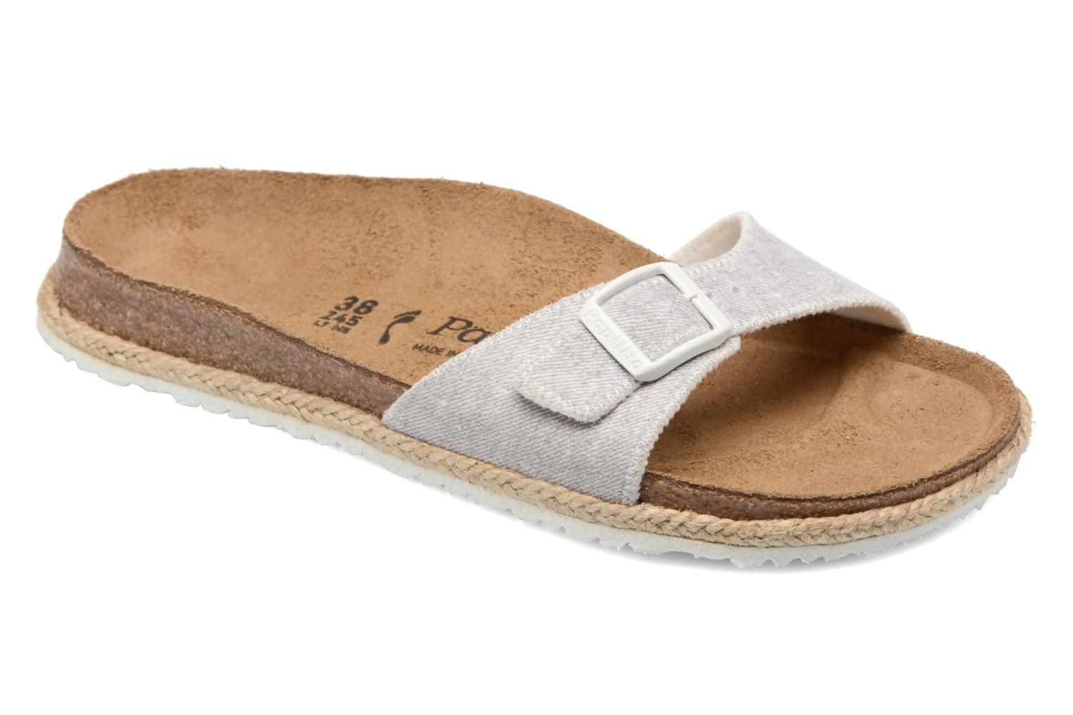 Mules & clogs Papillio Madrid Grey detailed view/ Pair view