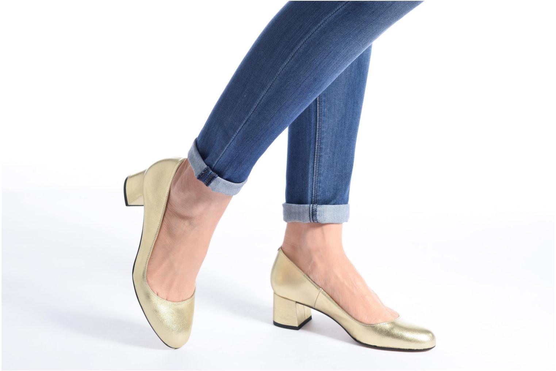 Zapatos de tacón Georgia Rose Slico Beige vista de abajo