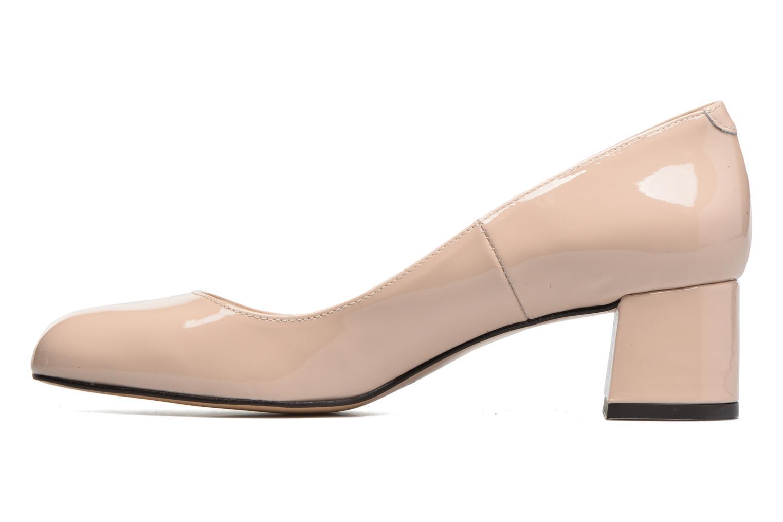 Zapatos de tacón Georgia Rose Slico Beige vista de frente