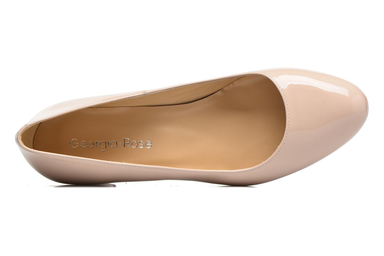 Zapatos de tacón Georgia Rose Slico Beige vista lateral izquierda