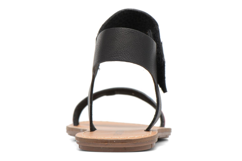 Sandales et nu-pieds Chattawak Louisiane Noir vue droite