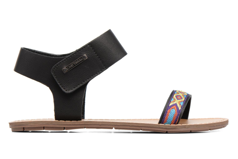 Sandales et nu-pieds Chattawak Louisiane Noir vue derrière