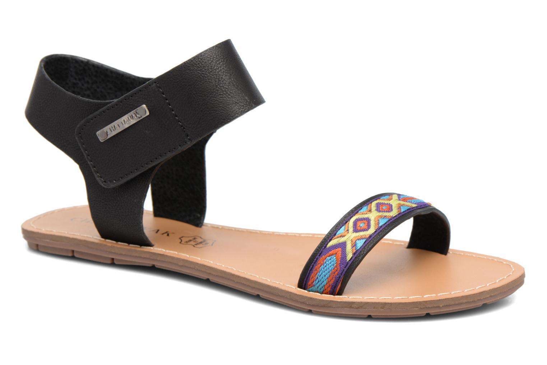 Sandales et nu-pieds Chattawak Louisiane Noir vue détail/paire