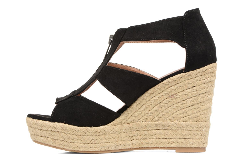 Sandals Chattawak Debby Black front view