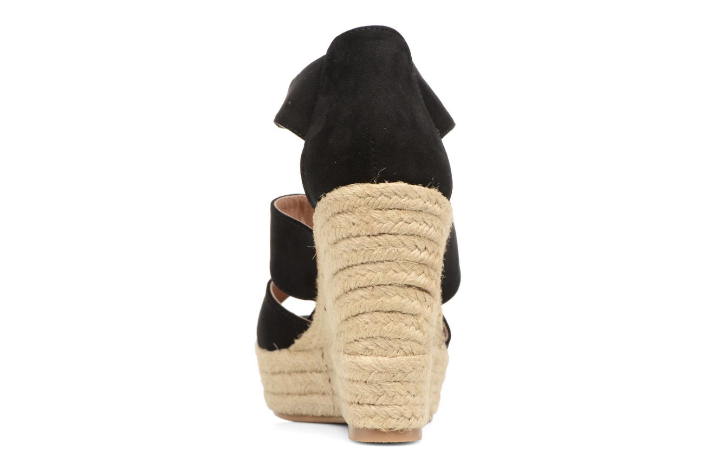 Sandales et nu-pieds Chattawak Debby Noir vue droite