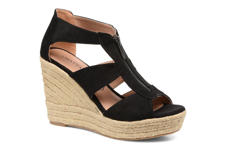 Sandales et nu-pieds Chattawak Debby Noir vue détail/paire
