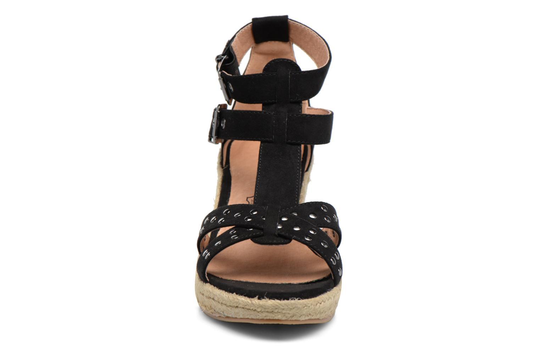Scarpe di corda Chattawak Laura Nero modello indossato