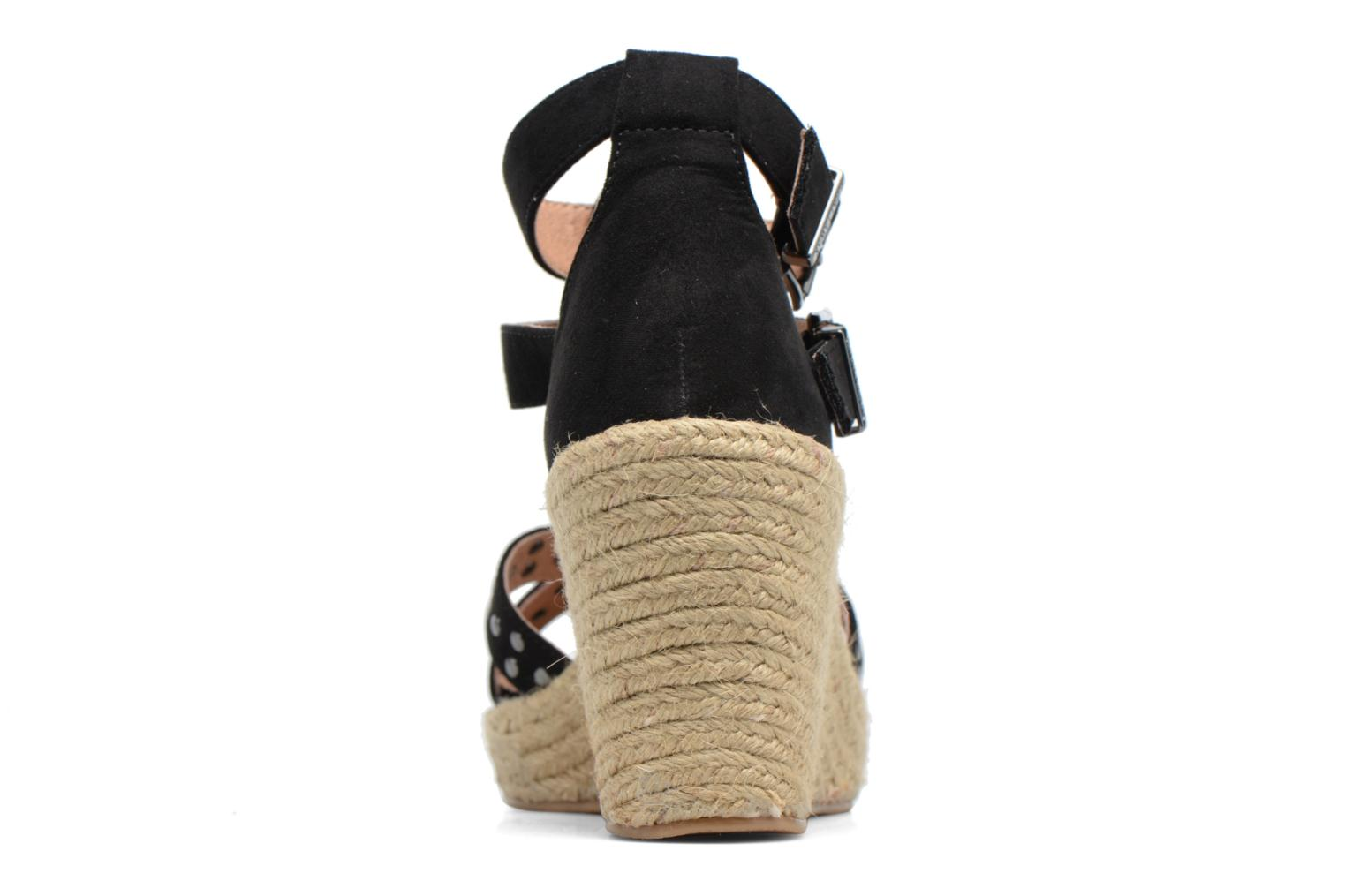 Espadrilles Chattawak Laura Black view from the right