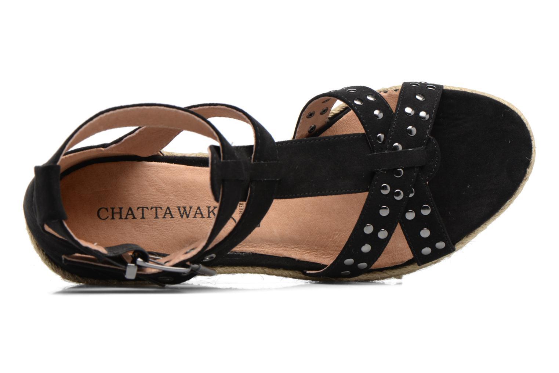 Scarpe di corda Chattawak Laura Nero immagine sinistra