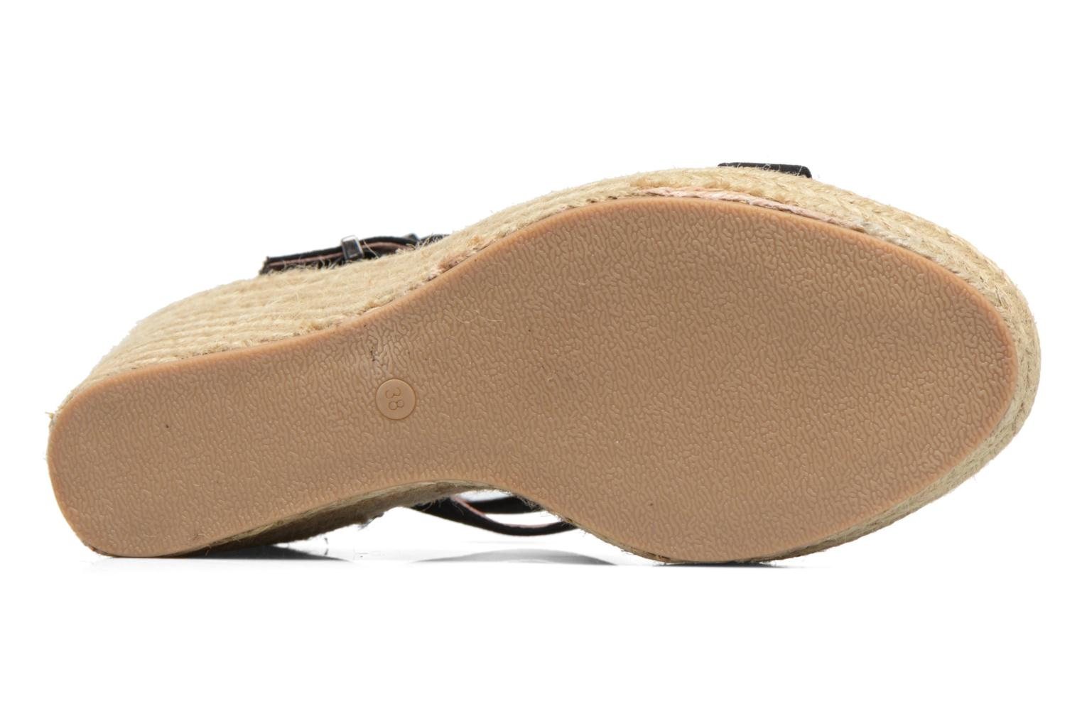 Espadrilles Chattawak Laura Black view from above