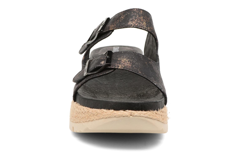 Sandales et nu-pieds Chattawak Lisette Noir vue portées chaussures