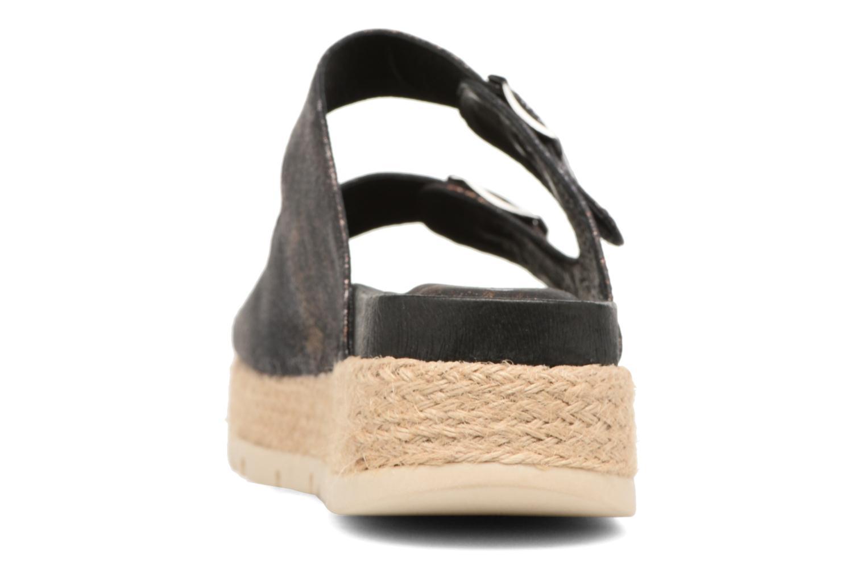 Sandales et nu-pieds Chattawak Lisette Noir vue droite