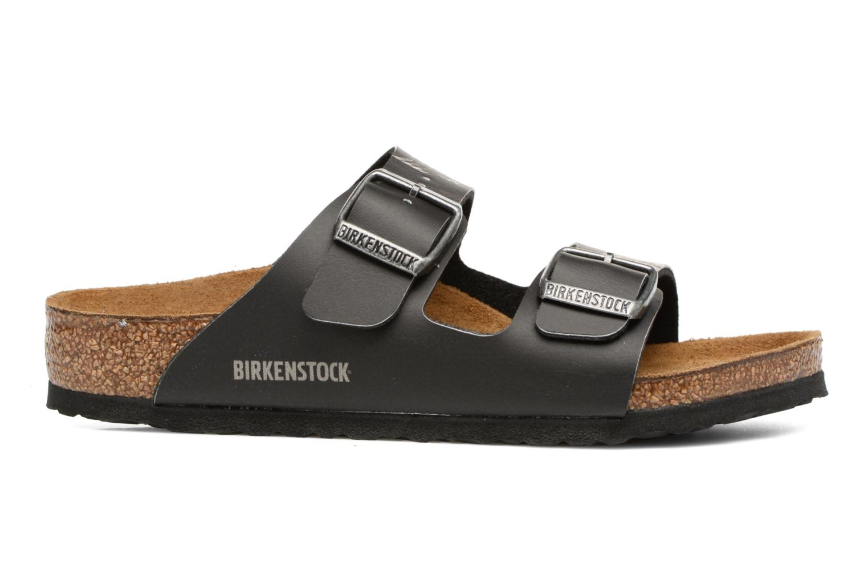 Sandalen Birkenstock Arizona  Birko Flor schwarz ansicht von hinten