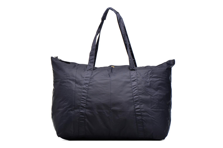 Bagages Bensimon Extra bag L Weekender pliable Bleu vue gauche