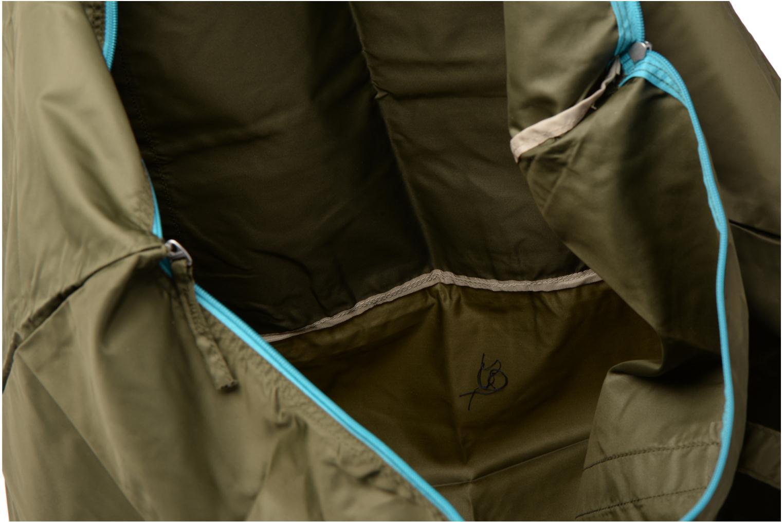 Bagages Bensimon Extra bag L Weekender pliable Vert vue derrière