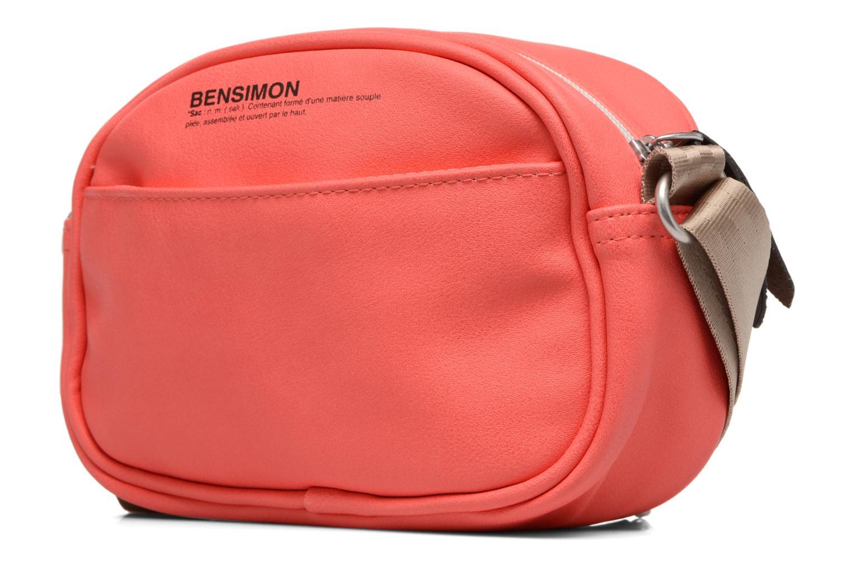 Borse Bensimon Fancy Fake leather Roung bag Rosa modello indossato