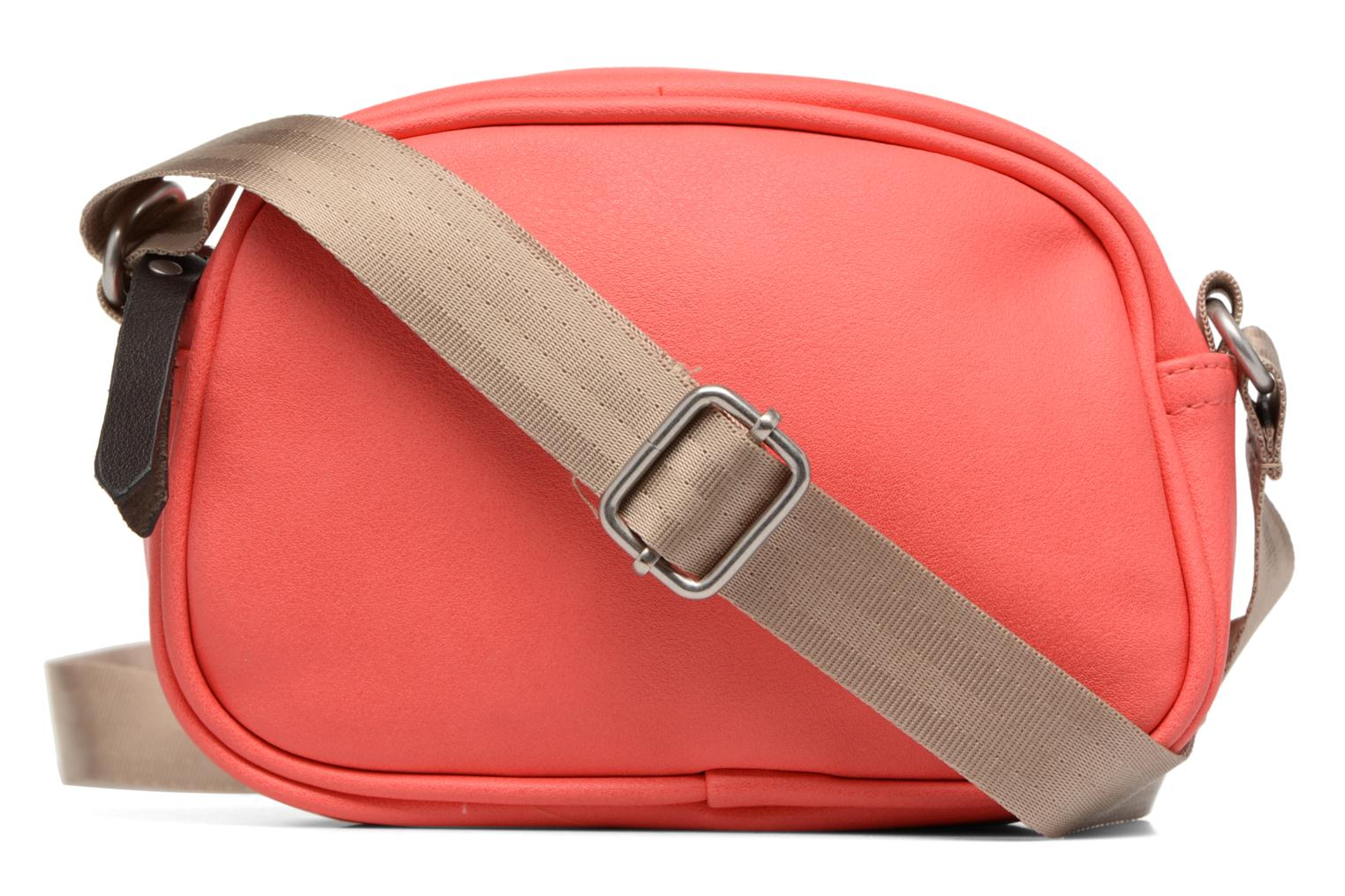Fancy Fake leather Roung bag Corail