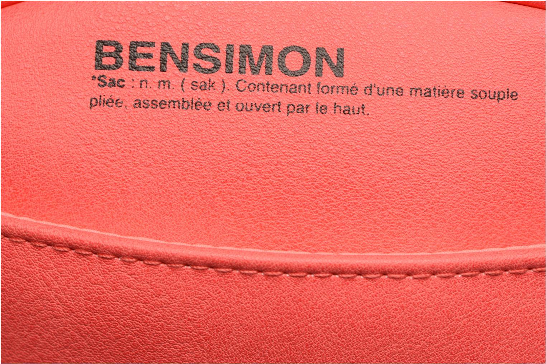 Borse Bensimon Fancy Fake leather Roung bag Rosa immagine posteriore