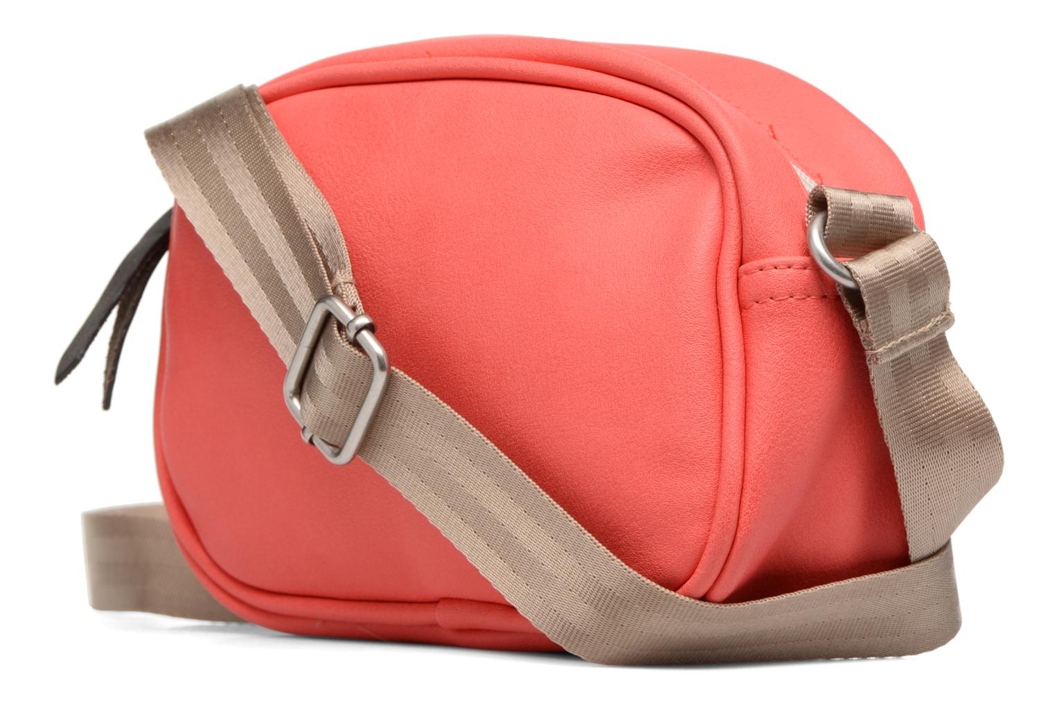 Sacs à main Bensimon Fancy Fake leather Roung bag Rose vue gauche