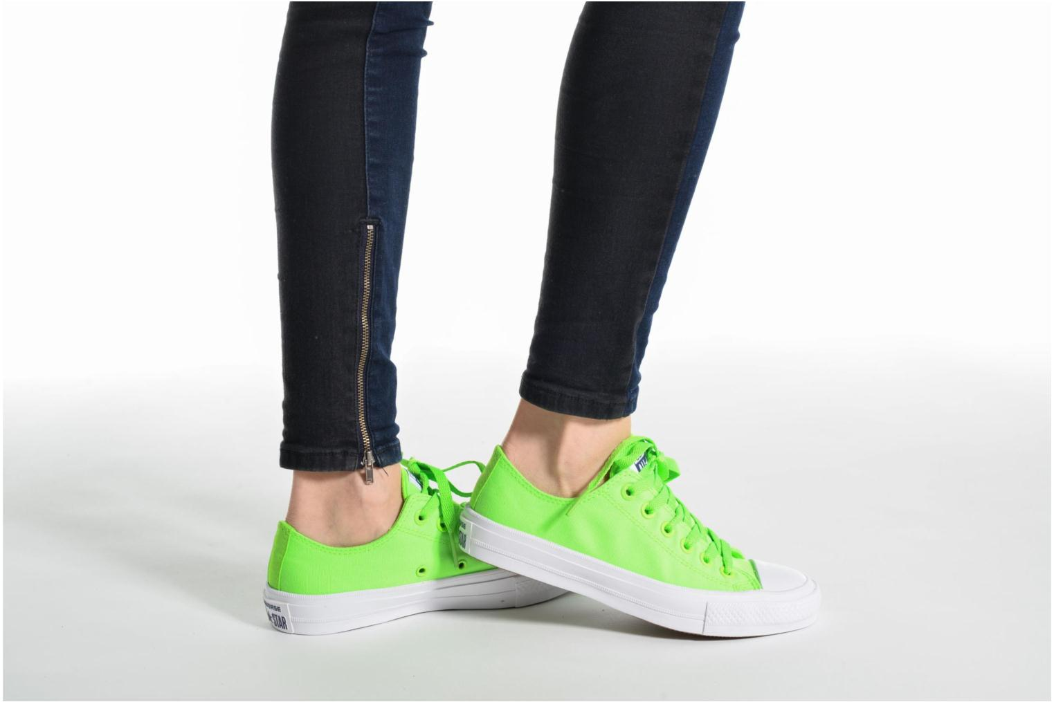 Chuck Taylor All Star II Ox Neon W Green Gecko/Navy/White