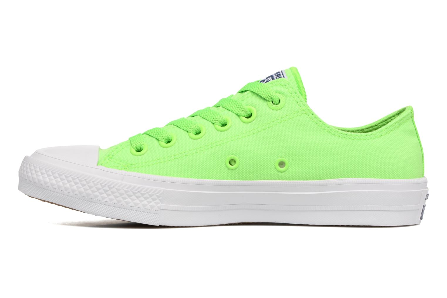 Sneakers Converse Chuck Taylor All Star II Ox Neon W Verde immagine frontale