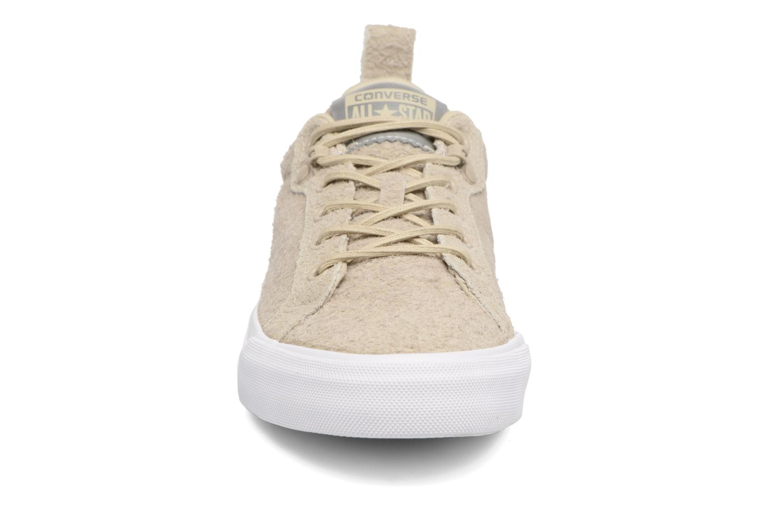 Baskets Converse Chuck Taylor All Star Fulton Wooly Bully Ox Beige vue portées chaussures