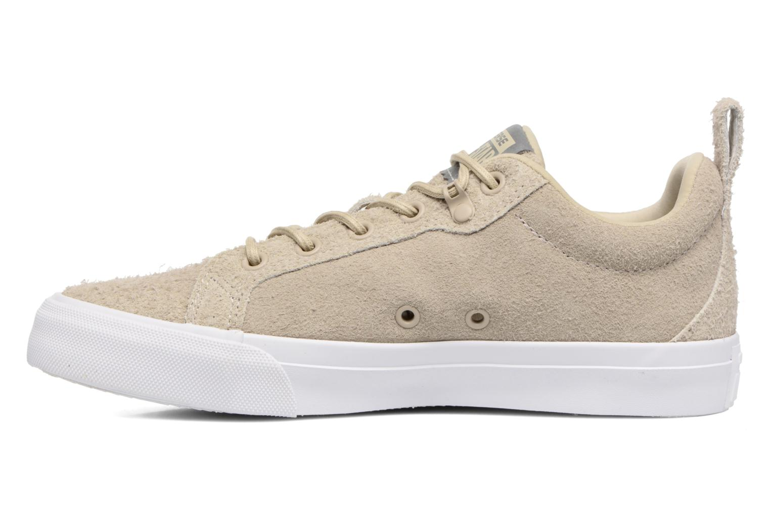 Sneakers Converse Chuck Taylor All Star Fulton Wooly Bully Ox Beige immagine frontale