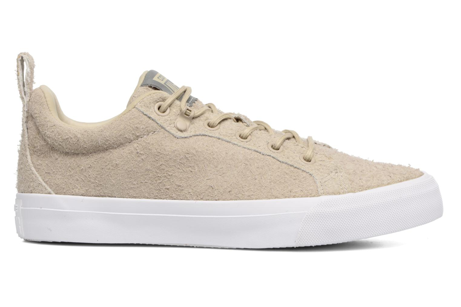 Sneakers Converse Chuck Taylor All Star Fulton Wooly Bully Ox Beige immagine posteriore