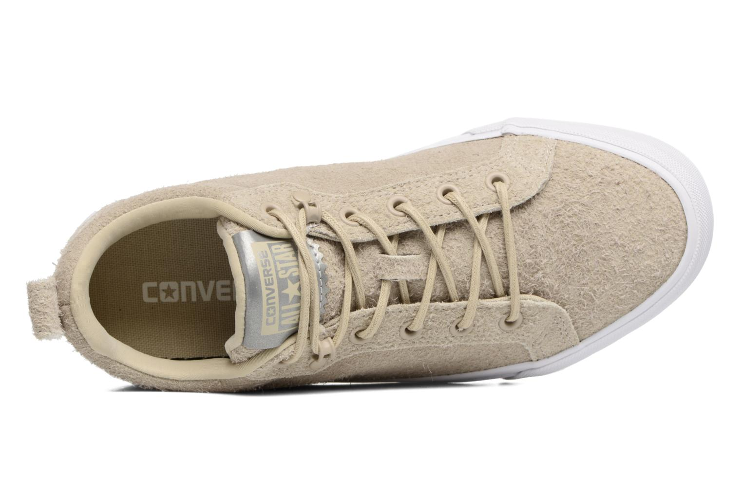 Deportivas Converse Chuck Taylor All Star Fulton Wooly Bully Ox Beige vista lateral izquierda