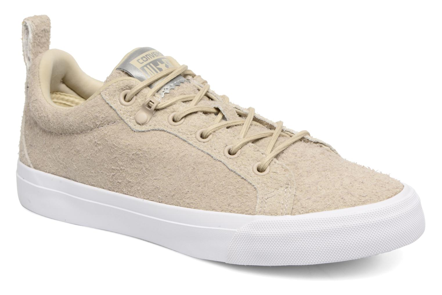 Baskets Converse Chuck Taylor All Star Fulton Wooly Bully Ox Beige vue détail/paire