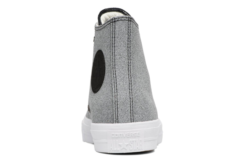 Baskets Converse Chuck II Two-Tone Leather Hi W Noir vue droite