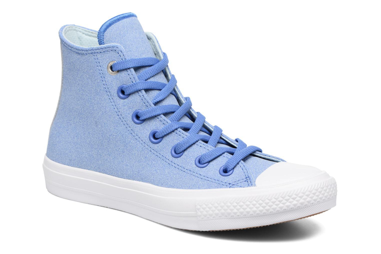 Chuck II Two-Tone Leather Hi W Oxygen Blue/Polar Blue/White