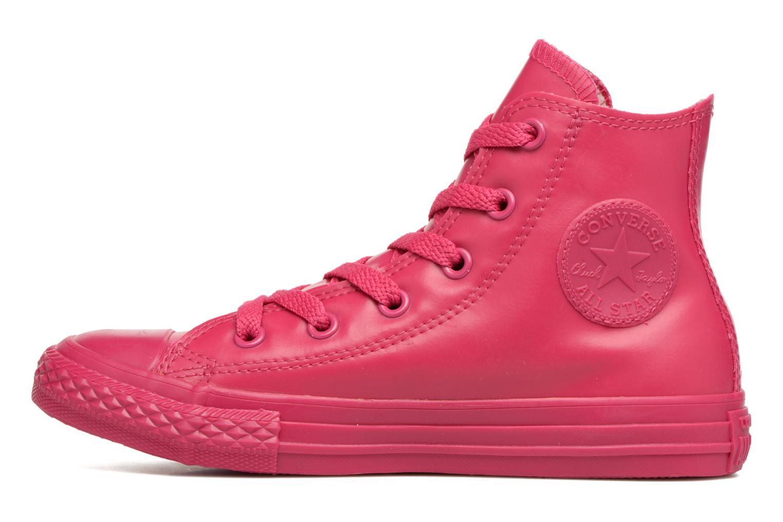 Sneaker Converse Chuck Taylor All Star Rubber Hi K rosa ansicht von vorne