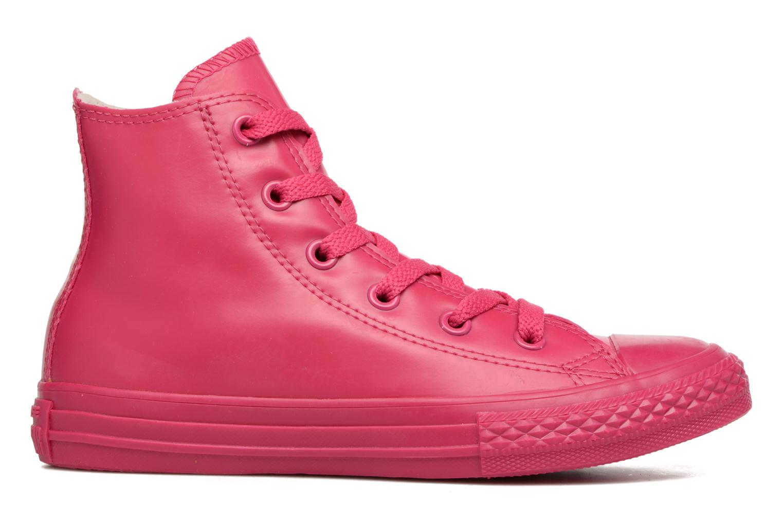 Sneaker Converse Chuck Taylor All Star Rubber Hi K rosa ansicht von hinten